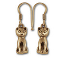 Kitty Earrings in 14k Gold