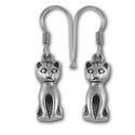 Kitty Earrings in Sterling Silver
