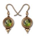 Gemstone Earrings in 14K Gold