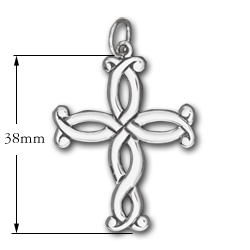 Spanish Cross in Sterling Silver