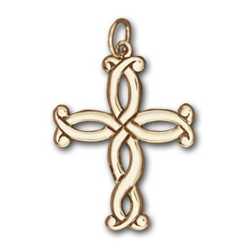 Spanish Cross in 14k Gold