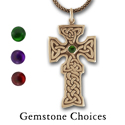 Celtic Cross Pendant in 14K Gold