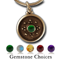 Balinese-Style Gemstone Pendant in 14k Gold