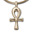 Sm Ankh Pendant in 14K Gold