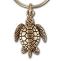 Turtle Pendant in 14K Gold