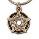 Pentagram Pendant (small)  in 14k Gold