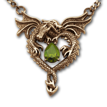 Dragonheart Pendant in 14k Gold