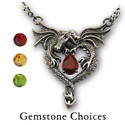 Dragonheart Pendant in Sterling Silver