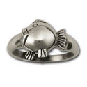 Blowfish Ring in Sterling Silver