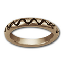 Lifeline Ring in 14k Gold