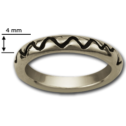 Lifeline Ring in Sterling Silver