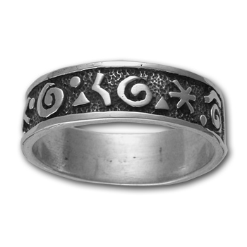 Petrolypgh Ring in Sterling Silver