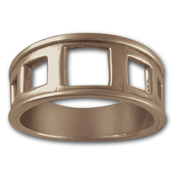 Hip to be Square Ring in 14k Gold