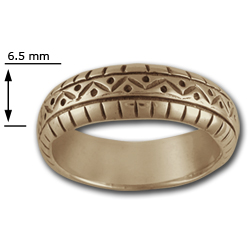 Band Ring in 14k Gold
