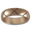 X-Band Ring in 14k Gold