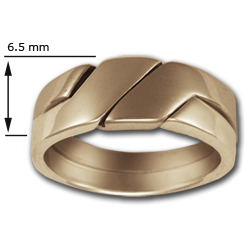 Puzzle Ring (Sm) in 14k Gold