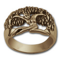 Tree Goddess Ring in 14k Gold