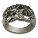 Tree Goddess Ring in Sterling Silver