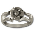 Perfect Petals Ring in Sterling Silver