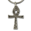 Egyptian Ankh Pendant in Sterling Silver