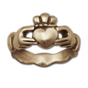 Claddagh Wedding Ring (Sm) in 14k Gold