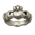 Claddagh Wedding Ring (Sm) in Sterling Silver