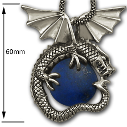 Huge Men's Dragon Pendant