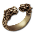 Griffin Ring in 14k Gold