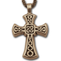 Sm Celtic Cross Pendant in 14K Gold