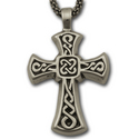 Sm Celtic Cross Pendant in Sterling Silver