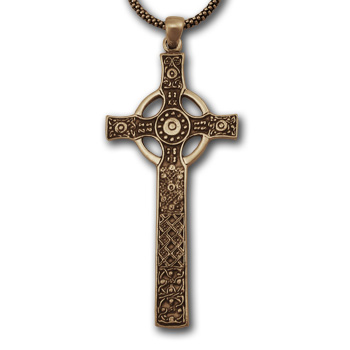 St. John's Cross (Lg) in 14K Gold