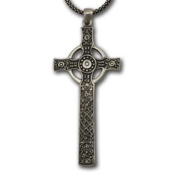 St. John's Cross (Lg) in Sterling Silver