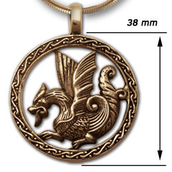 Sea Dragon in 14k Gold