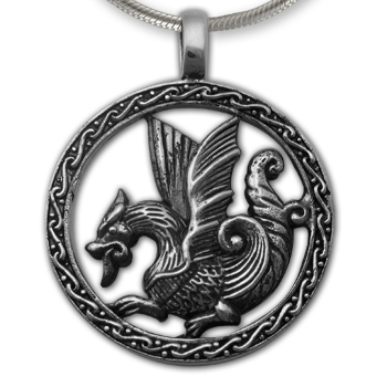 Sea Dragon in Sterling Silver