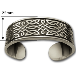 Celtic Men's Bracelet (Heavy) in Sterling Silver