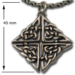 Celtic Knot Pendant in Sterling Silver