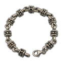 Men's Bracelet in Sterling Silver