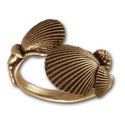 SeaShell Ring in 14K Gold