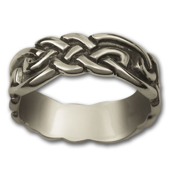 Eternity Knot Ring in Sterling Silver