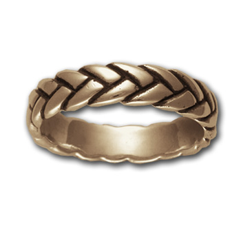 Rope Ring (Sm) in 14k gold