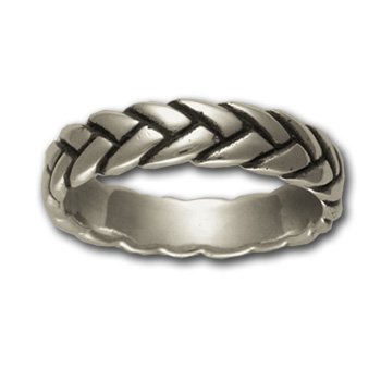 Rope Ring (Sm) in Sterling Silver