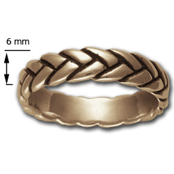 Rope Ring (Lg) in 14k Gold