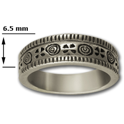 Tapered Ring in Sterling Silver