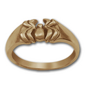 Arachnid Ring in 14k Gold