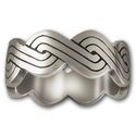 Celtic Weave Ring in Sterling Silver
