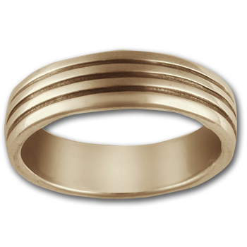 Classic Band Ring in 14k Gold