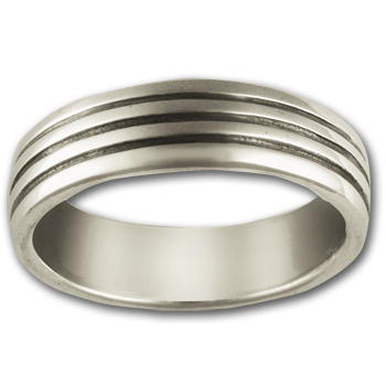 Classic Band Ring in Sterling Silver