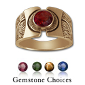 Gemstone Ring in 14k Gold