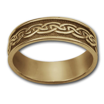 Celtic Band in 14k Gold