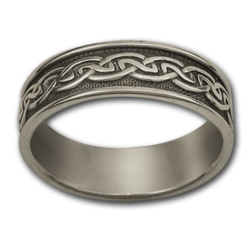 Celtic Band in Sterling Silver